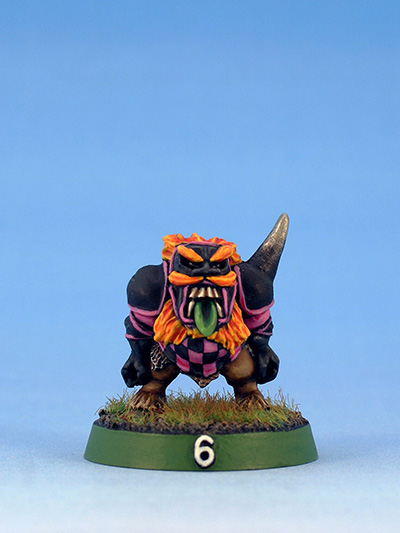 Citadel Miniatures Chaos Dwarves Blood Bowl Blocker