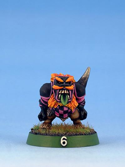 Citadel Miniatures Chaos Dwarves Blood Bowl Blocker
