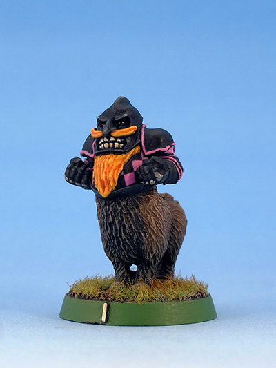 Citadel Miniatures Chaos Dwarves Blood Bowl Boar Centaur