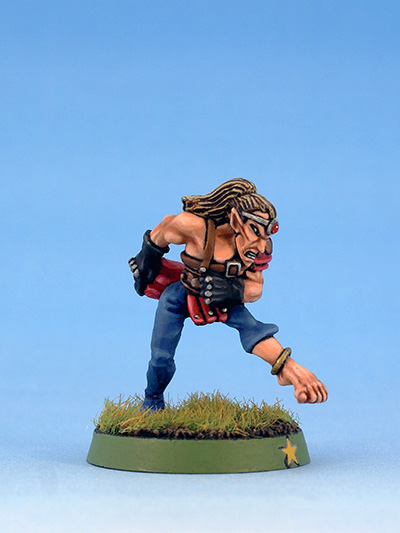 Citadel Miniatures Wood Elves Blood Bowl Kicker