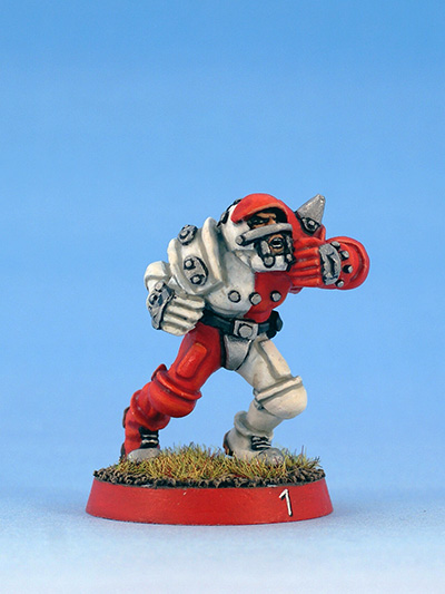 Citadel Miniatures humans Blood Bowl blitzer