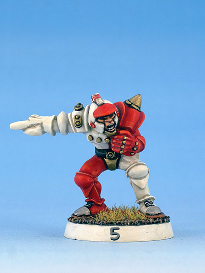 Citadel Miniatures humans Blood Bowl thrower