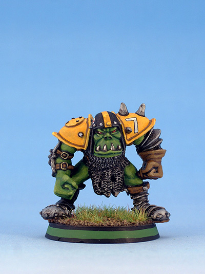 Citadel Miniatures Orcs Blood Bowl Black Orc Blocker