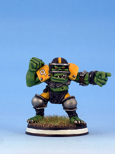 Citadel Miniatures Orcs Blood Bowl Thrower