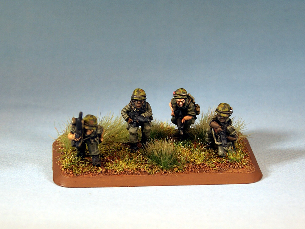 US Flames of War miniatures for Vietnam